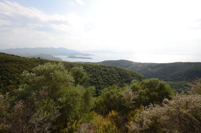 Quelques kilomètres avant d'arriver au Camping Kastri beach