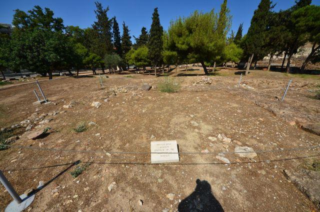 Sanctuaire de Dionysos Eleuthéreus - Acropole