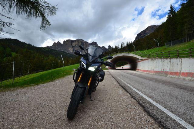 La Tracer dans les Dolomites