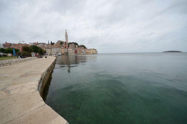 Rovinj de loin - Croatie