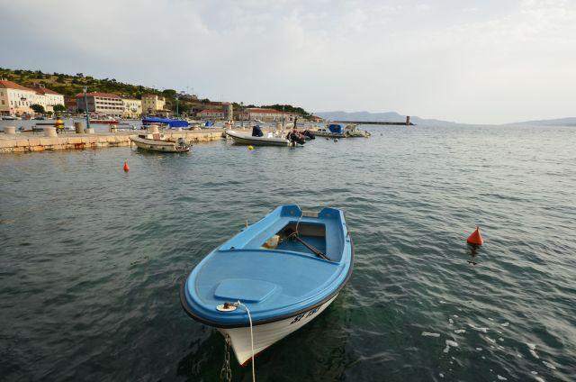 Le port de Senj - Croatie