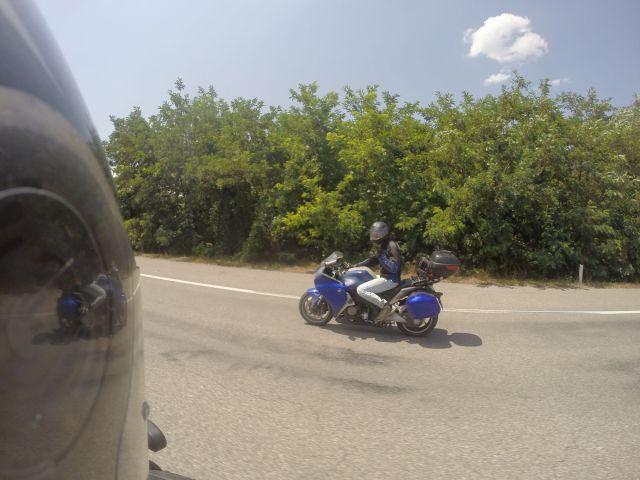 Fred sur l'autoroute macédonienne