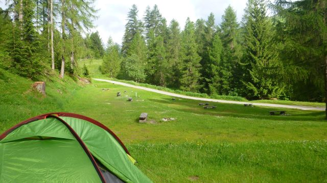 Camping Pè da Munt - Santa Maria Val Müstair (Suisse)