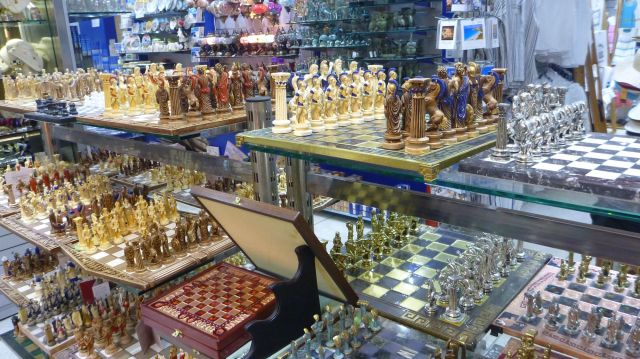Les boutiques à Plaka - Athènes