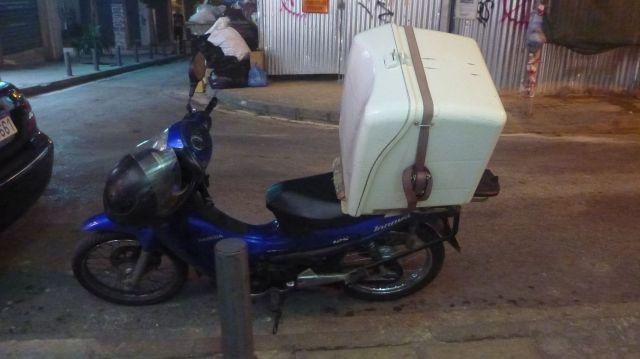 Scooter à Athènes