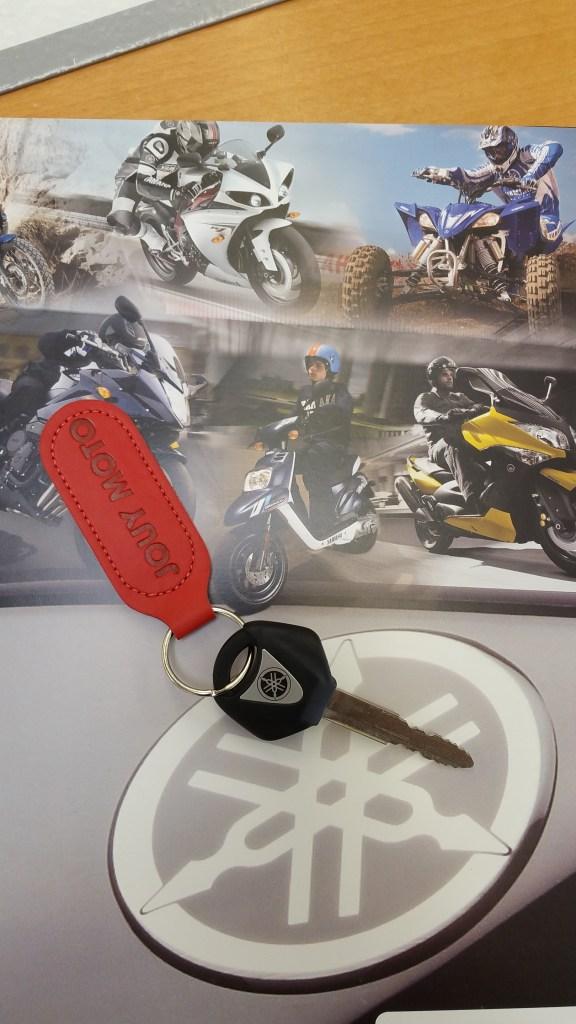 Les clés de ma MT09
