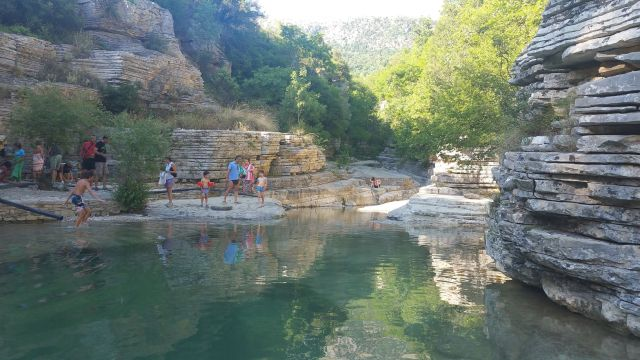 Papingo Rock Pools - Grèce