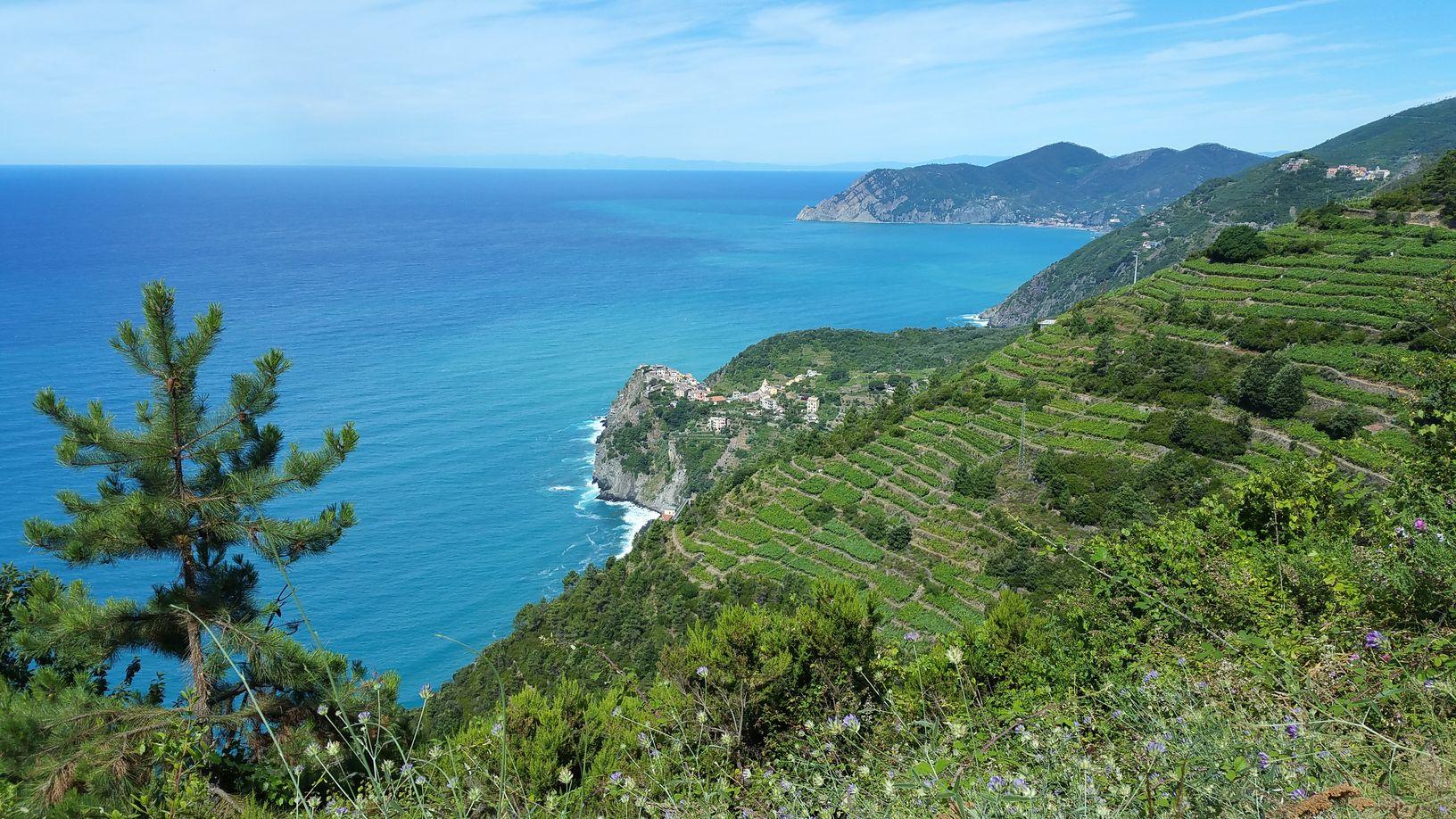 Tour d'Europe, Italie, Cinque Terre