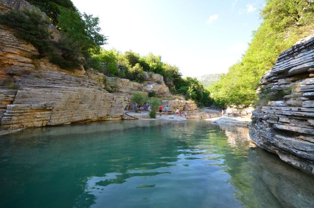 Papingo Rock Pools - Grèce