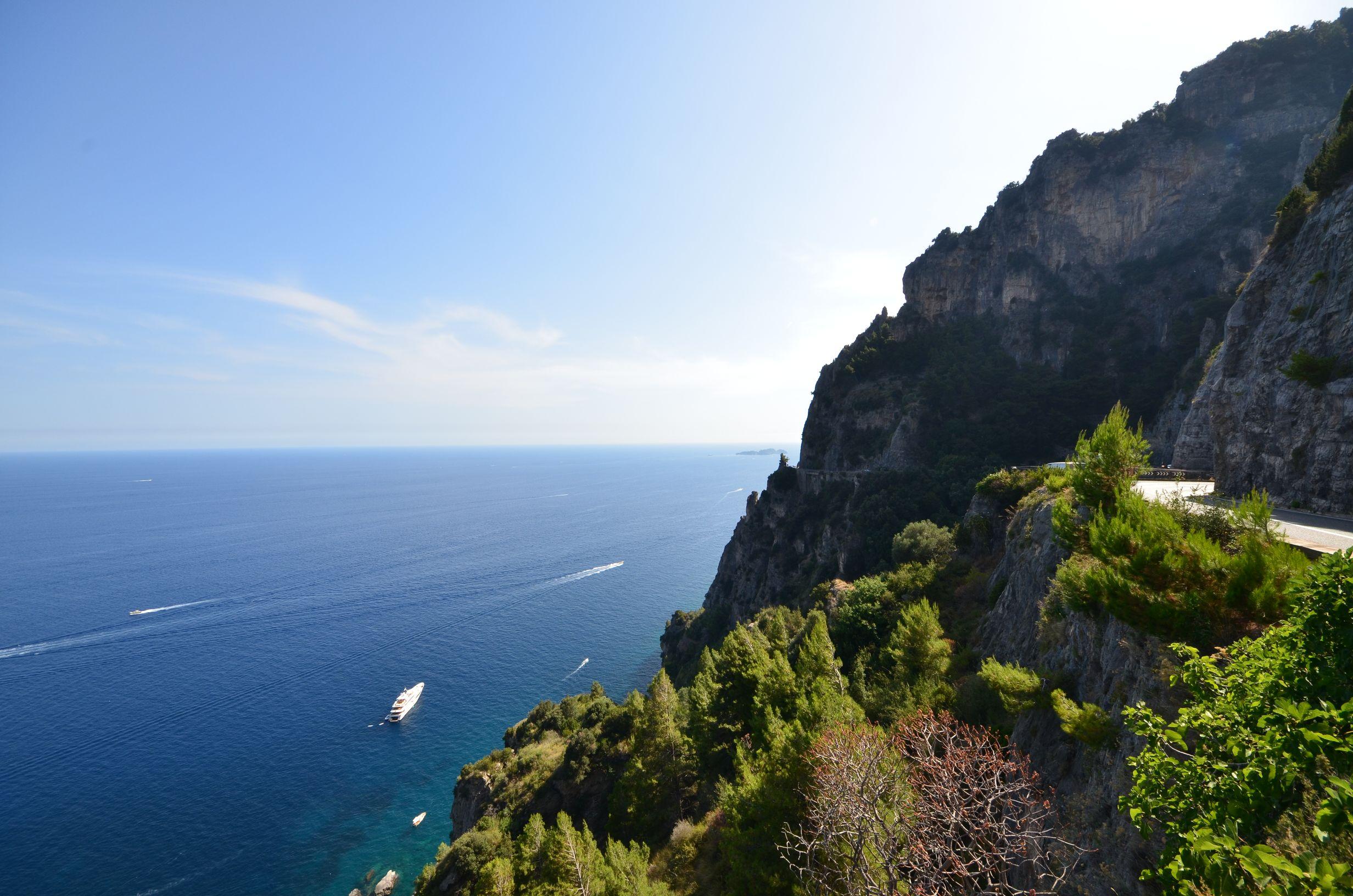 Tour d'Europe, Italie, Cote amalfitaine
