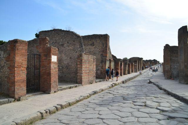 Ruelle à Pompéi