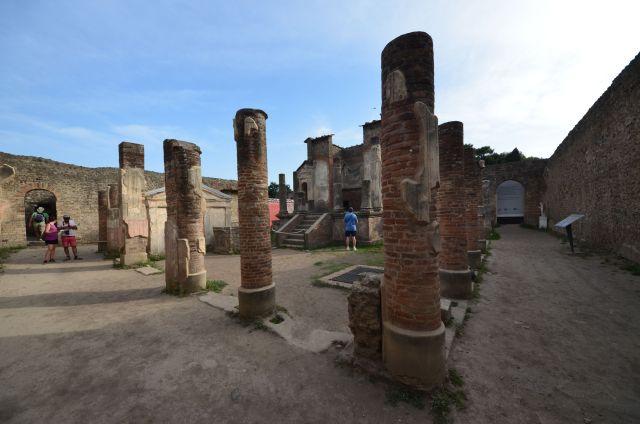 Temple d'Isis de Pompéi
