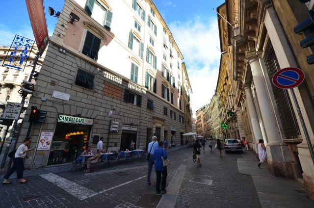 Via Cairoli - Gênes