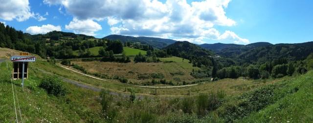 Vue depuis Valcivières