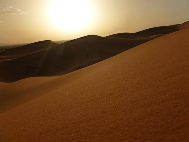 Erg Chebbi Shifting Sand Dunes, Morocco