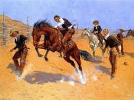 Frederic-Remington-Turn-Him-Loose-Bill