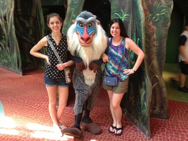Disney Princess Half Marathon Rafiki at Animal Kingdom