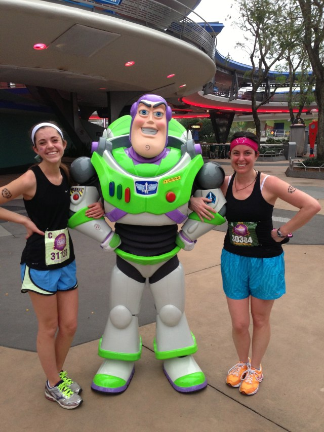 Buzz Lightyear at Disney Princess Half Marathon