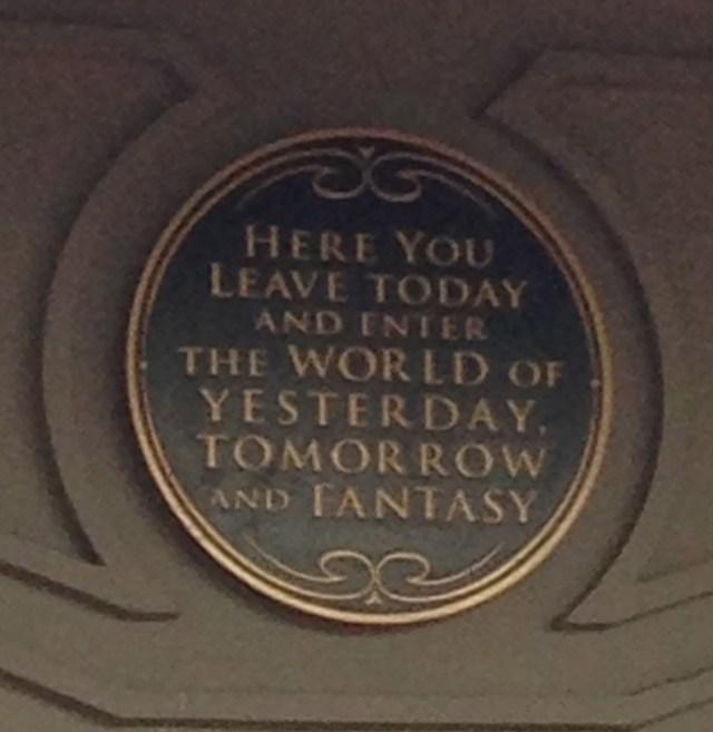 Disney Princess Half Marathon Magic Kingdom Entrance