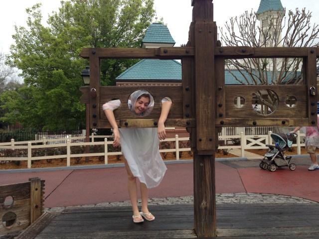 Disney Princess Half Marathon Imprisoned by the rain- Magic Kingdom
