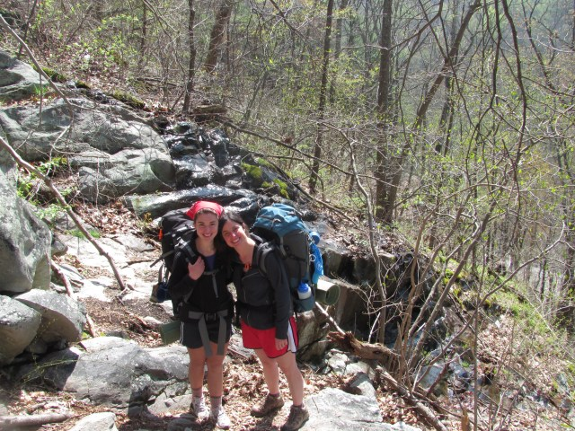 Backpacking with kids Hiking on the Appalachian Trail