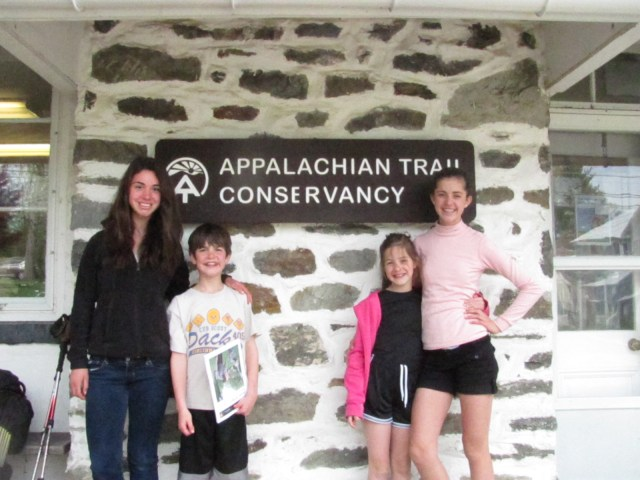 Backpacking with kids Appalachian Trail Conservency