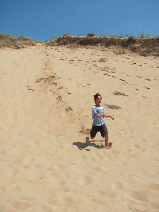 Still Running...Dune Climb at Sleeping Bear Dunes National Lakeshore