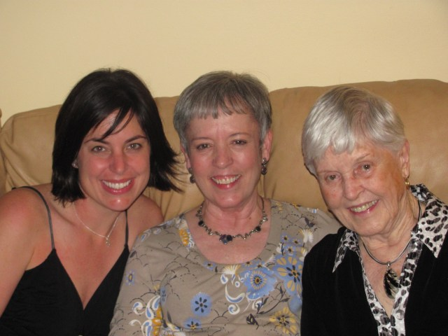 Three Generations- Me, My Mom and My Grandma