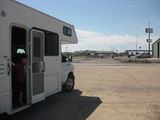 Limon Colorado in the RV Renting a RV with Cruise America
