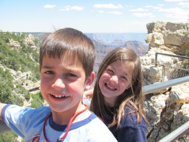 Garrett and Maya on the North Rim