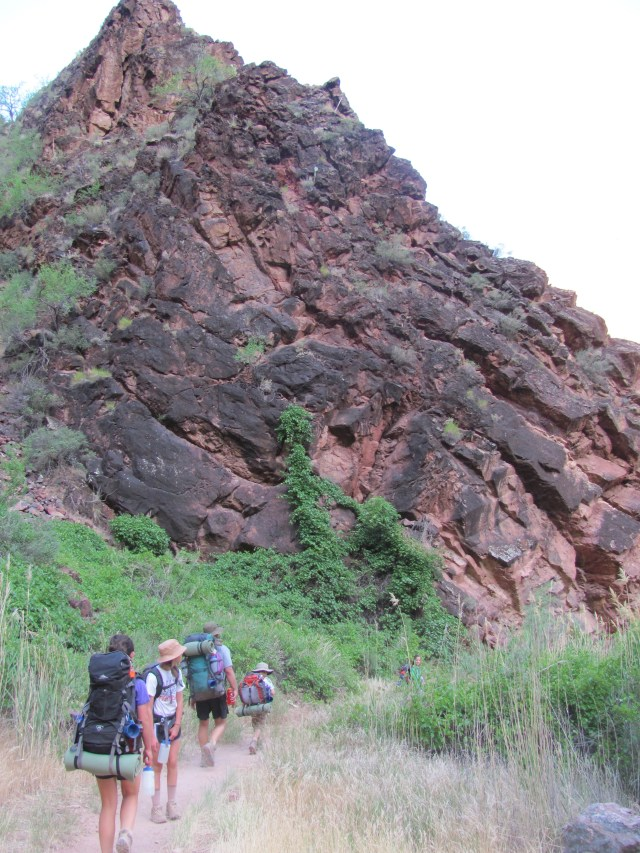 Grand Canyon Rim to Rim with kids: Hiking the North Kaibab Trail to Phantom Ranch