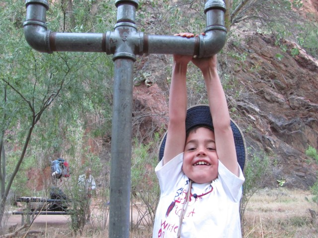Grand Canyon Rim to Rim with kids: Garrett's Ready to Hike
