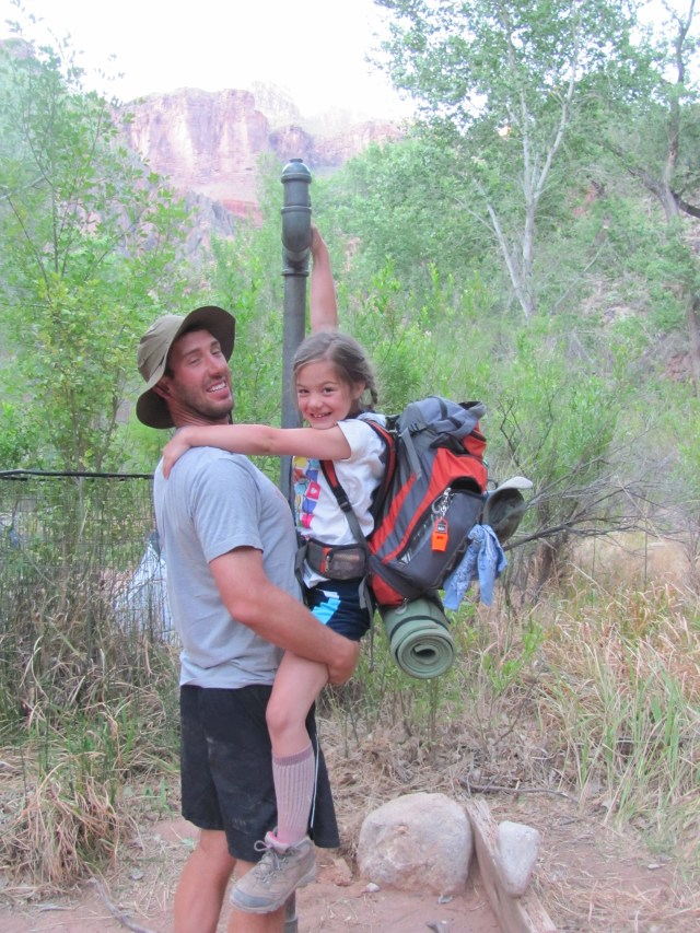 Grand Canyon Rim to Rim with kids: Ready to Go- Hiking From Phantom Ranch