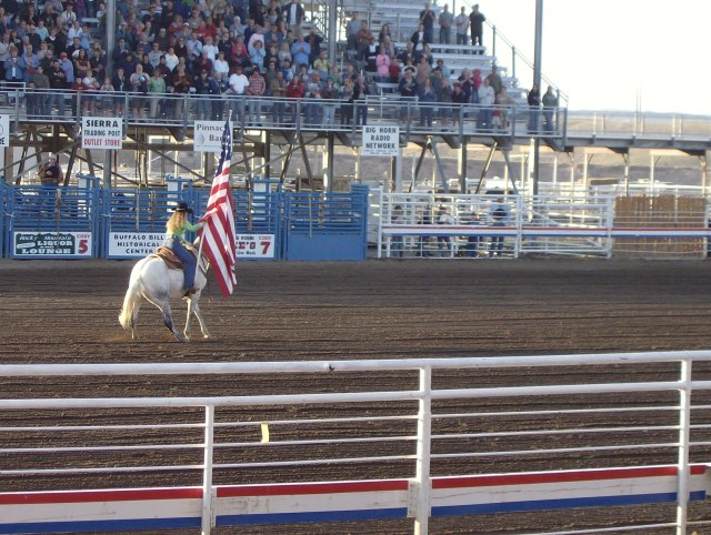 Yellowstone with kids: Cody Night Rodeo