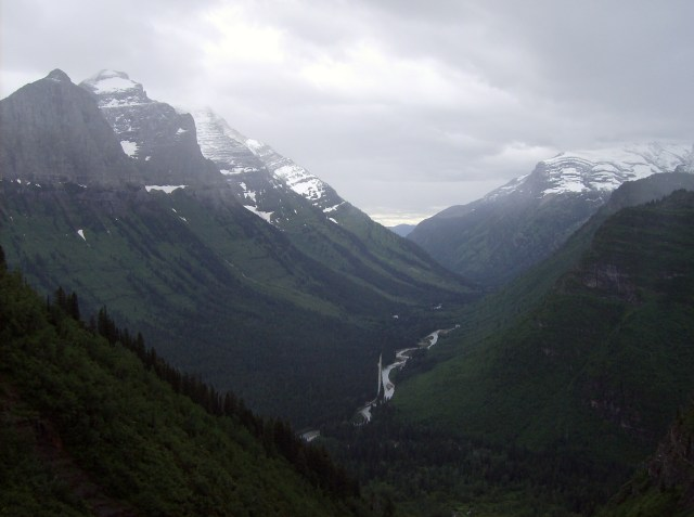 Family Friendly Activities in Glacier National Park: Views Along the Going to the Sun Road