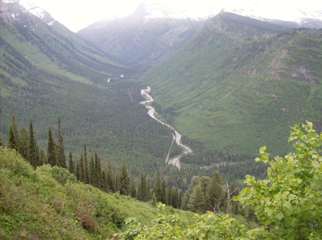 Views Along the Going to the Sun Road- Family Friendly Activities in Glacier National Park