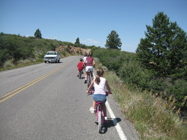 Biking in Black Canyon of the Gunnison