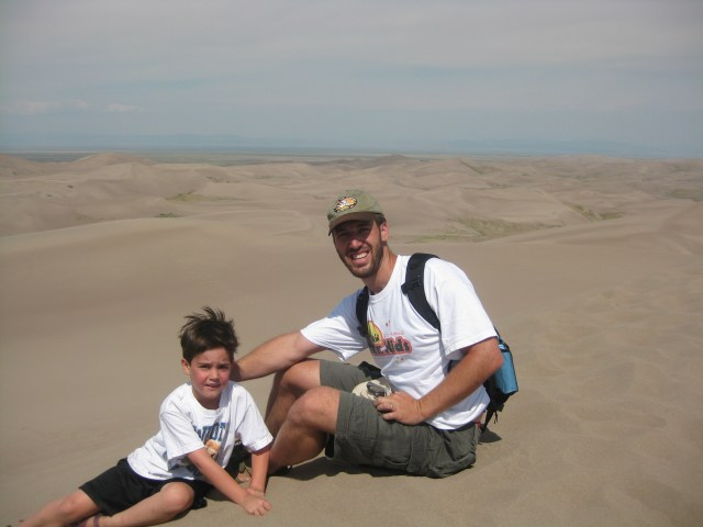 They Made it! Dune Climb in Great Sand Dunes National Park