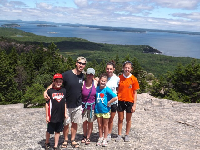 We did it! Beehive Trail in Acadia National Park