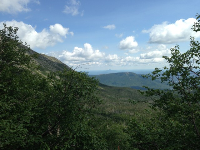 Climbing Mt. Katahdin: Views From the Saddle Trail in Baxter State Park