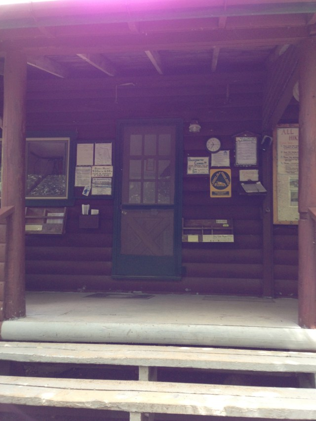 Roaring Brook Ranger Station in Baxter State Park