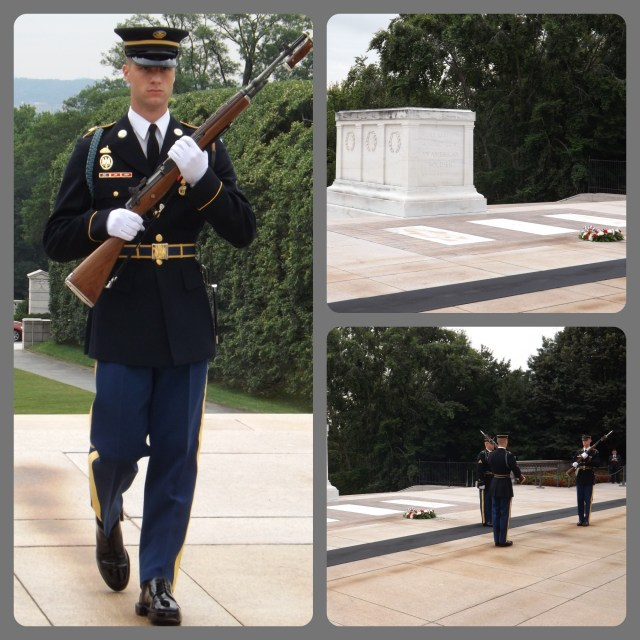 Tomb of the Unknowns Changing of the Guard