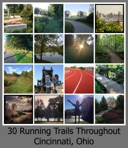 30 days Running: Trails in Cincinnati