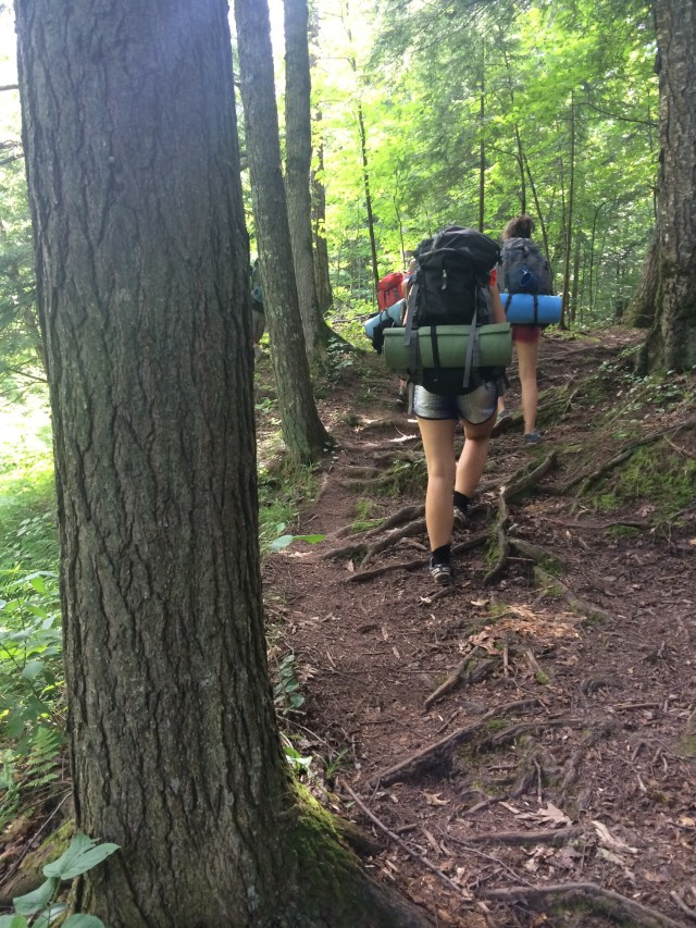 Backpacking Superior Trail Porcupine State Park