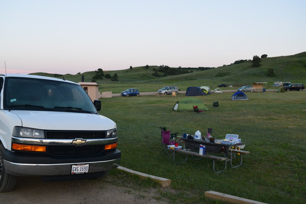Sage Creek Campground Free Camping In Badlands National Park