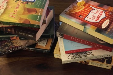Save Money on Road Trips - Buy Books at Thrift Stores