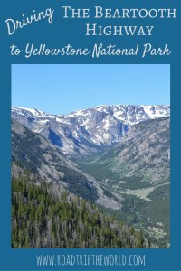 Driving the Beartooth Highway to Yellowstone National Park