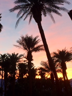 furnace creek sunset