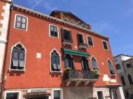 Venice rust color house