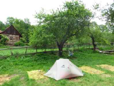 My tent - best spot :-)
